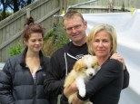 Abby, Phillip & Helen with Scarlett