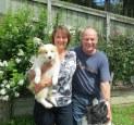 Karen & Grant with Louie
