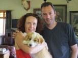 Lisa & Aaron with Amber