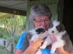 Sister Sue with Sue & Blu