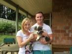 Nicola & Reece with Flynn