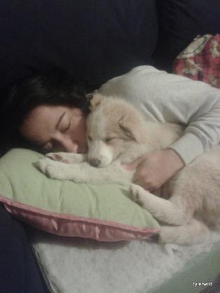 Paige with Lyla