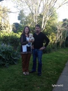 Brodwyne & Tony with Stella