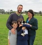 Jess with Fraser, Ruth James & Hannah