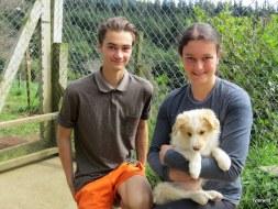 Ty with Nicola & James