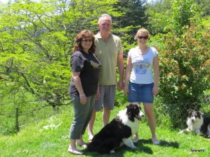 Winston & Alana with Karen & Steve