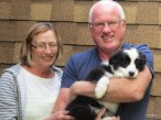 Sandra, Malcolm and Millie