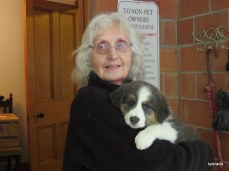 Joan with Mystee