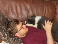 Skye cuddles
