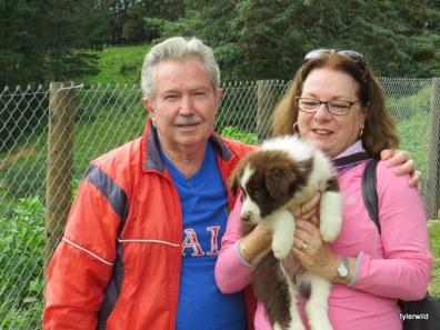 Pepe with Enzo and Sylvia