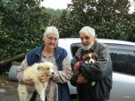 Kay and Wally with Max and Morna