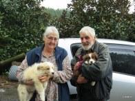 Kay and Wally with Max and Morna