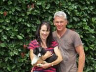 Nicola and Mark with Lola