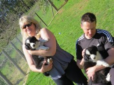 Tania and Tony with the boys