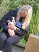 Tania with Rocky