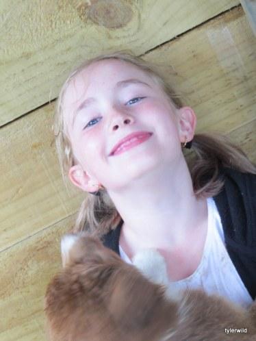 a happy Calleigh