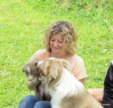 Bobbi with Billie and Georgie