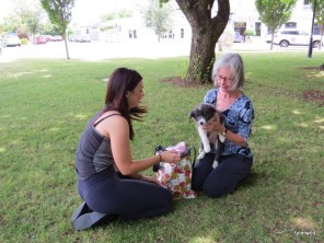 Deborah and Emily meet Juno