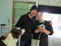 Baby Jess with Carl and Fiona