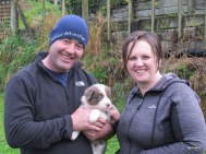 Carl and Fiona with Jess
