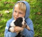 Isaac with Daisy