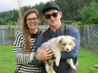 Tracey and Jarrad with beni