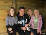 Nysha and family